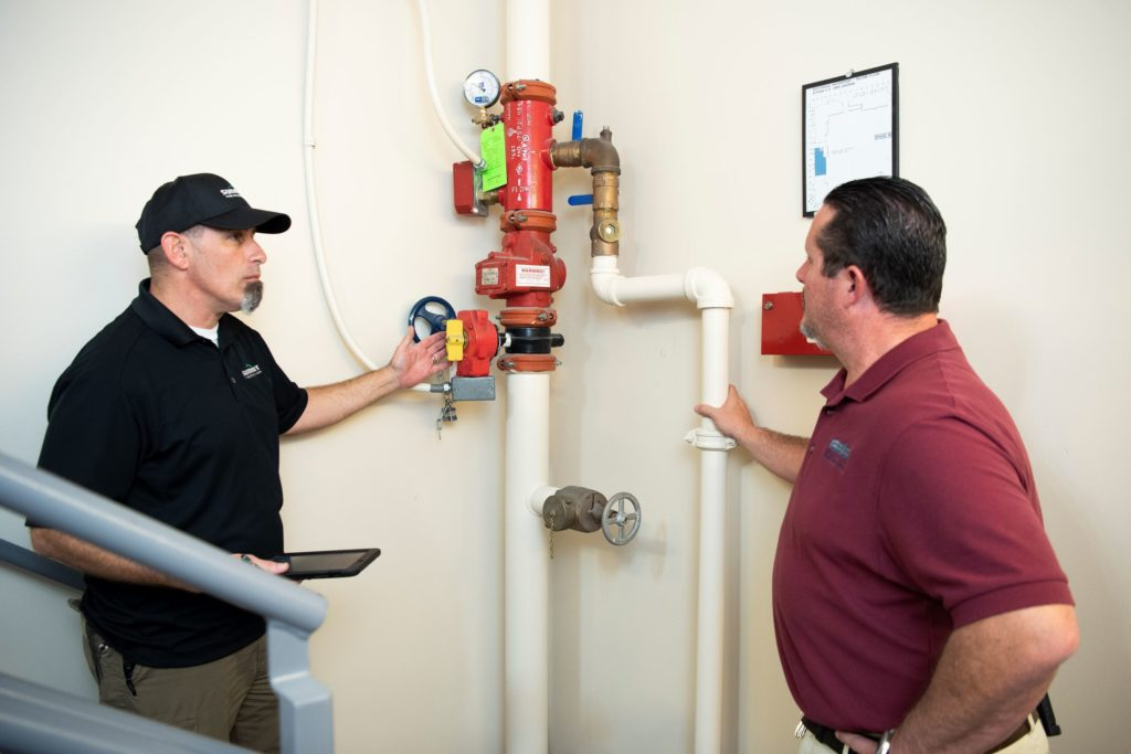get your fire safety systems inspected and maintenanced